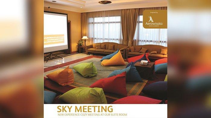 Sky Meeting di Rooftop Balcony Prama Grand Preanger