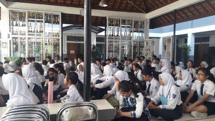 Begini Pembinaan yang Diterima Siswa Baru di SMAN 20 Bandung
