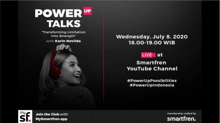 Smartfren Ajak Generasi Muda #PowerUpPossibilities Bersama Arief Muhammad dan Karin Novilda
