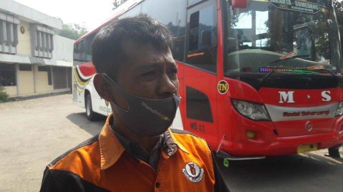Jeritan Hati Sopir Bus di Sumedang, Kondisi Semakin Susah dengan Keputusan Larangan Mudik