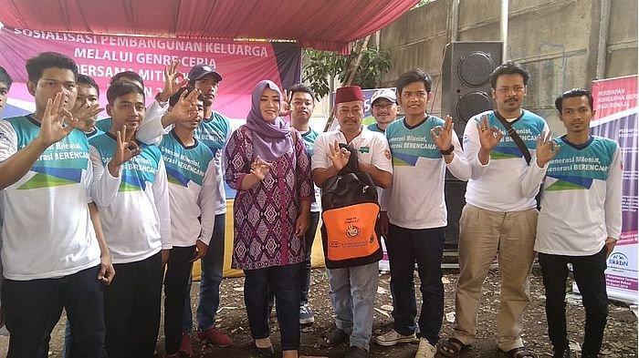 BKKBN bersama Komisi IX DPR RI Sosialisasikan Genre Ceria di Desa Tambun Kabupaten Bekasi