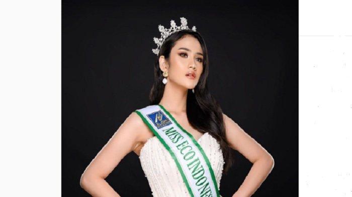 Kabar Intan Wisni Permatasari Miss Eco Indonesia, Masih di Mesir, Jelaskan Alasan Pakai Translator
