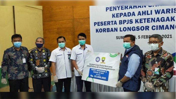 Serikat Pekerja BPJamsostek peduli bencana