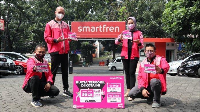 Pakai Smartfren GOKIL MAX Terbaru, Nikmati Harga Paling Gokil dan Kuota Data Terbesar di Kotamu