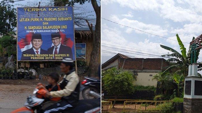 Spanduk Klaim Kemenangan Pasangan Prabowo-Sandi Sudah Tidak Terlihat di Rancaekek