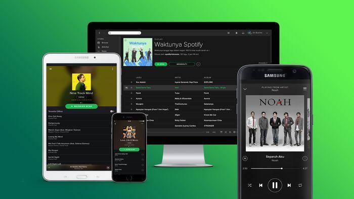 Spotify Dilaporkan Sempat Down, Pengguna Sulit Share Musik yang Didengarkan ke Instagram