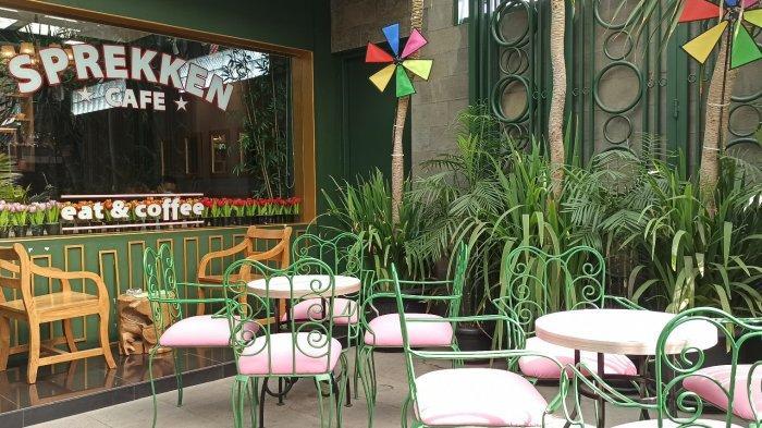 Sprekken Cafe Hadirkan Tempat Nongkrong Bergaya Eropa Tropical