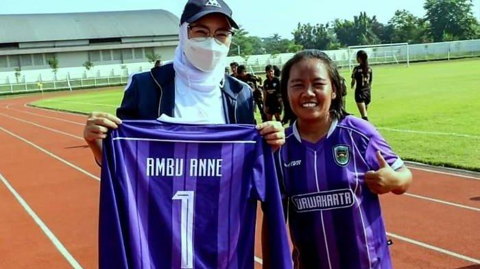 Uji Coba Stadion Purnawarman Baru, Bupati Anne Buka Kick Off Persipo U-17 Vs Asad 313 Jaya Perkasa