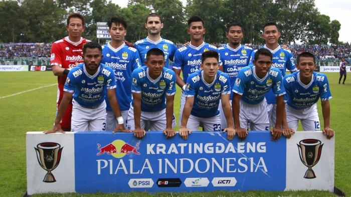 Link Live Streaming Persib Bandung vs Persiwa Wamena di Piala Indonesia di Jawa Pos TV dan iNews