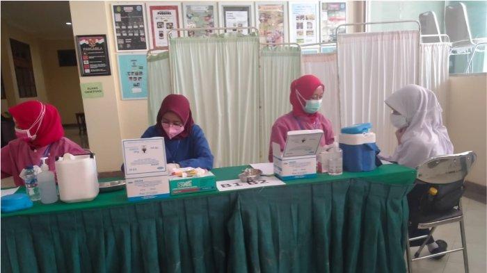 Gebyar Vaksinasi Covid 19 untuk Anak Sekolah di Kota Cimahi