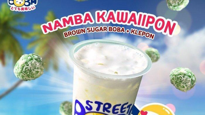 Street Boba Milik Jovi Adhiguna Menghadirkan Varian Menu Kue Tradisional Klepon