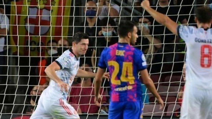 Hasil Liga Champions, Bayang-bayang Skor 2-8, Barcelona Kembali Kalah Telak dari Bayern Muenchen