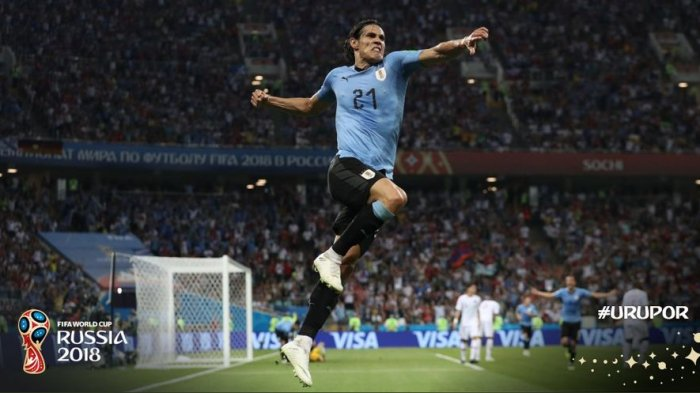 Line Up Uruguay Vs Prancis - Cedera, Edinson Cavani Absen di Laga Penting