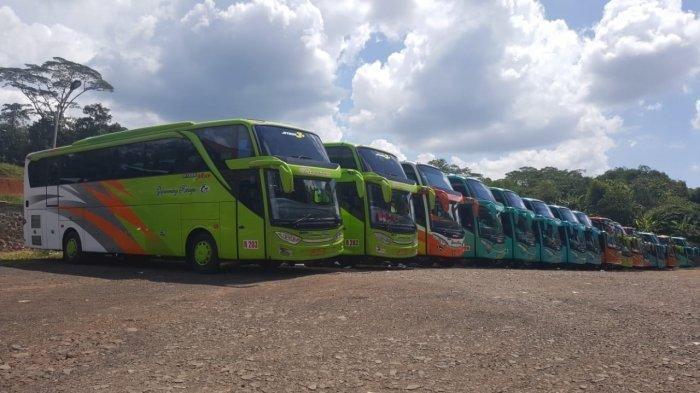 Mulai Besok, PO Gapuraning Rahayu Stop Operasi, 120 Bus Terpaksa Dikandangkan, 600 Kru Menganggur