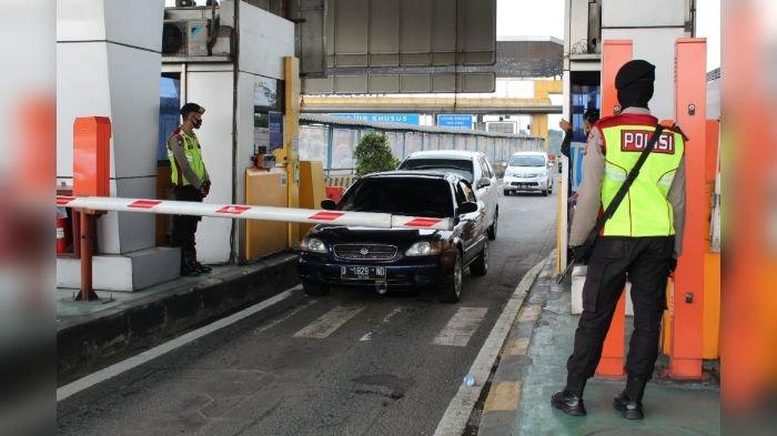 H-3 Lebaran, Volume Kendaraan di Exit Tol Cileunyi Turun 50 Persen Dibanding Tahun Lalu
