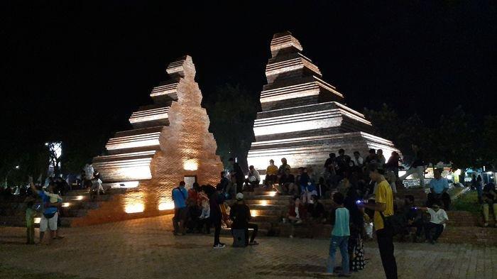 Wajah Baru ALUN-ALUN KEJAKSAN Cirebon, Cantik Penuh Lampu di Malam Hari, Spot Baru Berfoto