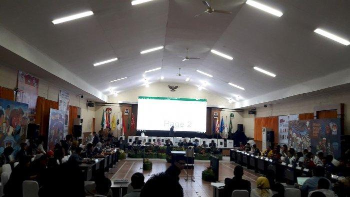 Rekapitulasi Pemilu 2019 di Privinsi Jabar, Hari Ini Rekap 6 Daerah, Penjagaan Polisi Sangat Ketat