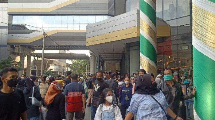 Ramai di Yogya Kepatihan dan Kings Shopping Centre Bandung, Ada Pengunjung Tak Tenang Belanja