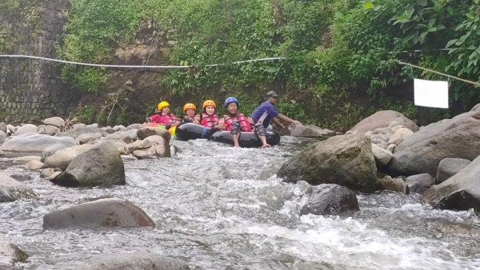 Sungai Ciputri Dulunya Penuh Sampah, Kini Disulap Jadi Obyek Wisata River Tubing