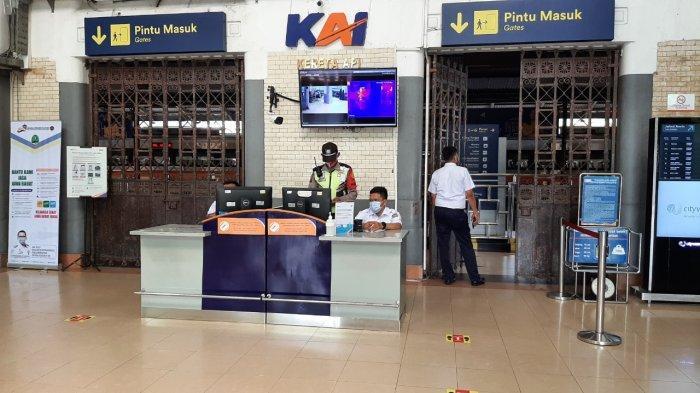 Ratusan Penumpang Kereta Gagal Berangkat Saat PPKM Darurat, di Wilayah Daop 3 Cirebon