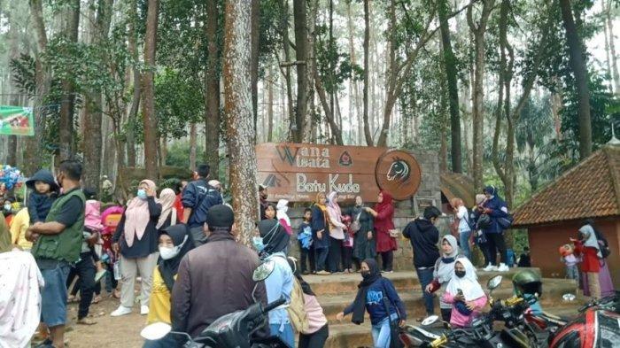 Wana Wisata Batu Kuda Ramai Saat Libur Lebaran, Pendakian ke Gunung Manglayang Dibatasi 3.000 Orang