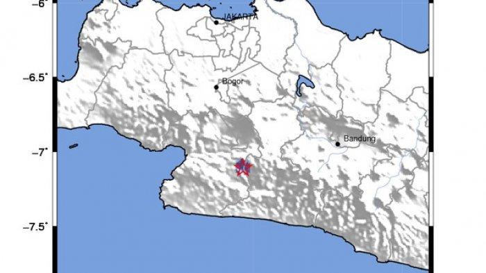 Sukabumi Dua Kali Diguncang Gempa Bumi, BMKG : Waspada Gempa Kerak Dangkal Akibat Sesar Aktif
