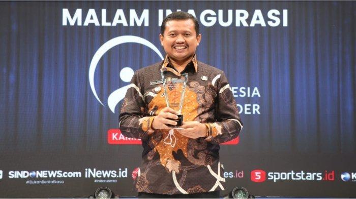 Bupati Sumedang dianugerahi Sebagai Pemimpin Visioner Indonesia Oleh MNC Group
