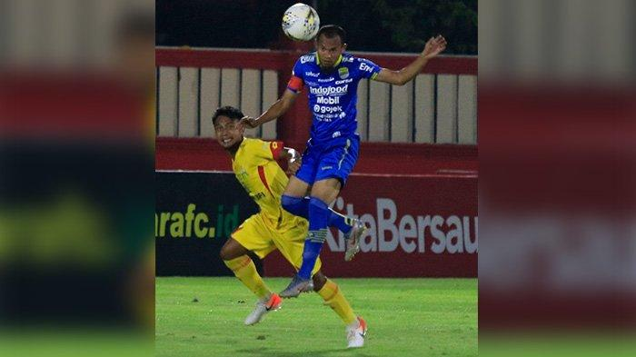 Supardi dalam duel Persib Bandung vs Bhayangkara FC di pekan ke-24 Liga 1 2019 di Stadion PTIK Jakarta, Rabu (23/10/2019) malam. Skor akhir imbang 0-0.