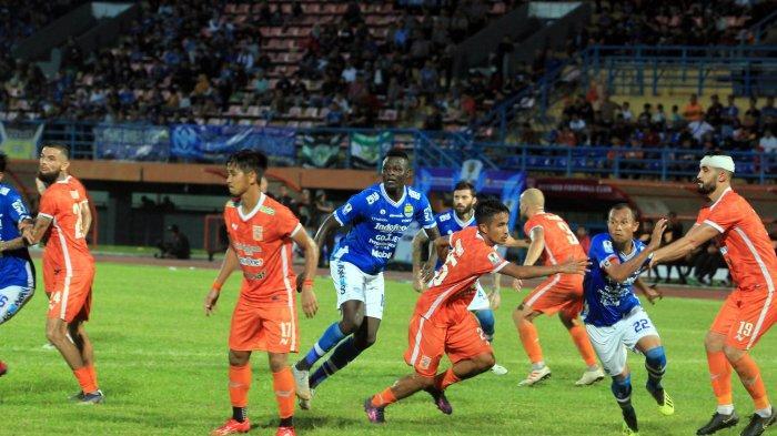 Seluruh Tiket Laga Persib Bandung vs Borneo FC Dijual Secara Online