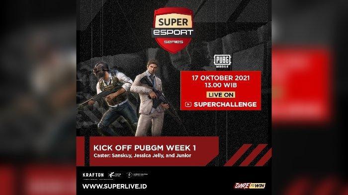 Super Esports Series PUBG.
