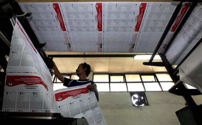 Distribusi Logistik Pilgub untuk Kota Tasikmalaya Terhambat