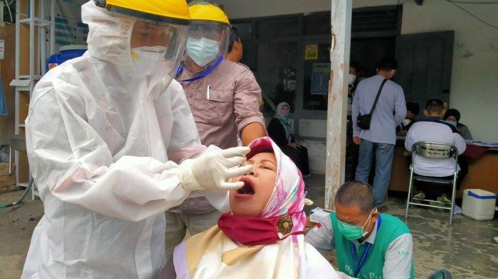 Swab Test Massal Kembali Digelar GTPP Covid-19 Indramayu, Kini Giliran ASN dan Wartawan