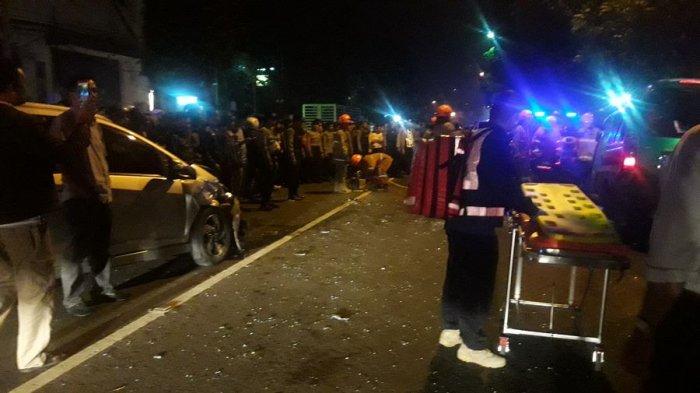 Seorang Tewas di Tempat Akibat Tabrakan Beruntun di Jalan Kiaracondong