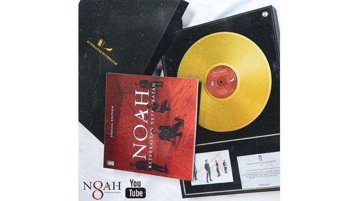 Tandai 8 Tahun Berkarya, Noah Lelang Vinyl Special Gold Edition, Disebutkan Raffi Ahmad Ikut Menawar