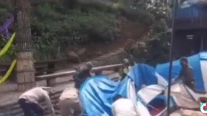 Viral Video Pembongkaran Tenda di Tempat Wisata di Pengalengan, Ini Penjelasan Satgas Covid-19