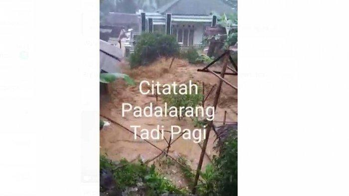 Beredar Via WhatsApp, Video Citatah Padalarang Banjir Bandang Tadi Pagi, Ini Faktanya