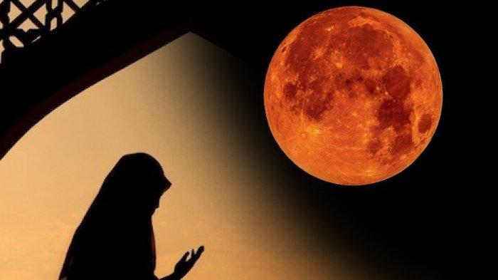 Gerhana Bulan Total Dini Hari Ini, Berikut Amalan yang Dilakukan Rasulullah Saat Terjadi Gerhana