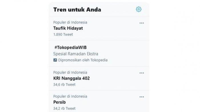Taufik Hidayat trending topic