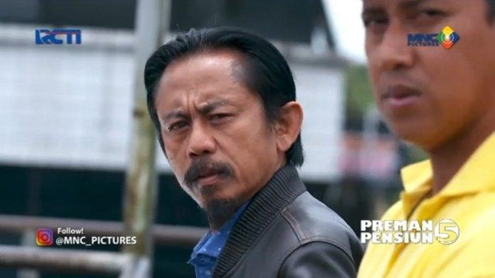 SINOPSIS Preman Pensiun 5 Jumat 7 Mei 2021, Kang Mus Kembali ke Terminal, Cecep Lepas Kendali
