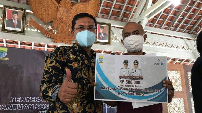Ketua DPRD Kota Bandung Berharap Proses Penyaluran Bantuan Tidak Menimbulkan Kerumunan Masyarakat