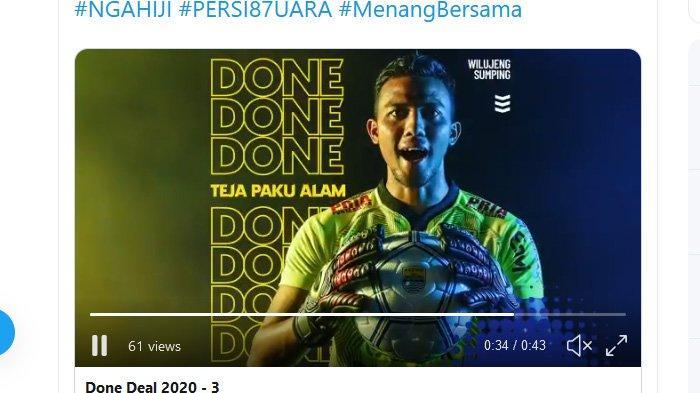 Teja Paku Alam Merapat, Deden Natshir dan Aqil Savik Dibuang ke Bandung Blitar United