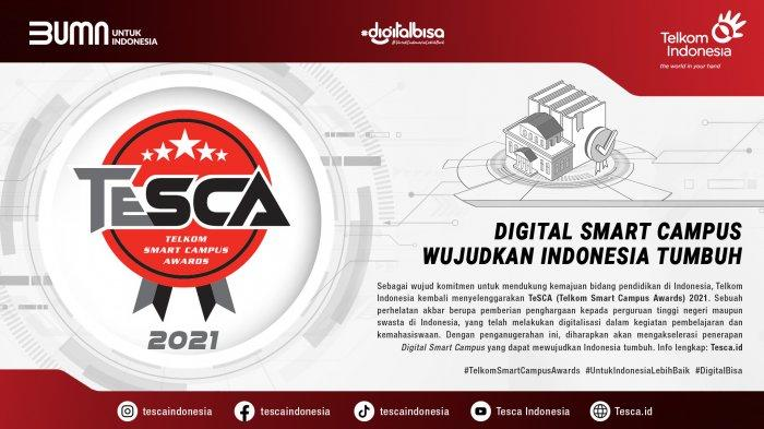 TeSCA 2021 Tingkatkan Digital Adoption dan Digital Creativity Perguruan Tinggi Indonesia