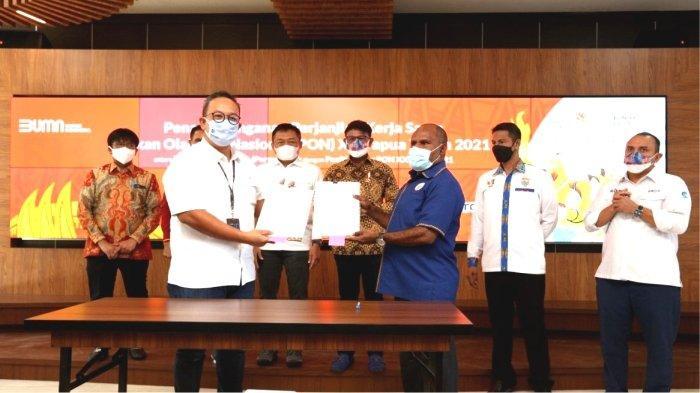 Sebagai Official Platinum Telco Partner, Telkom Siap Sukseskan Penyelenggaraan PON XX Papua 2021