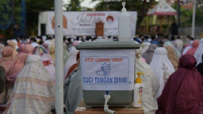 Doa Idul Fitri dari Jemaah Masjid As Shidiq Bandung: Semoga Allah Merdekakan dari Ujian Covid-19