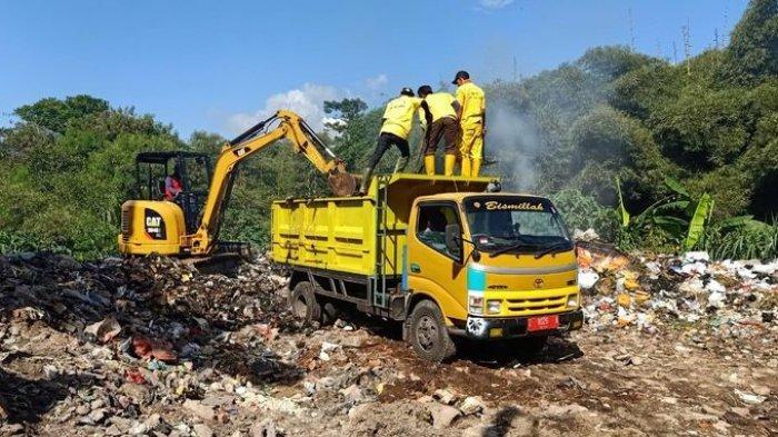 Pembakaran Sampah Terjadi di TPA Cibeureum Sumedang, Harusnya Tak Boleh Tapi Dibiarkan Saja