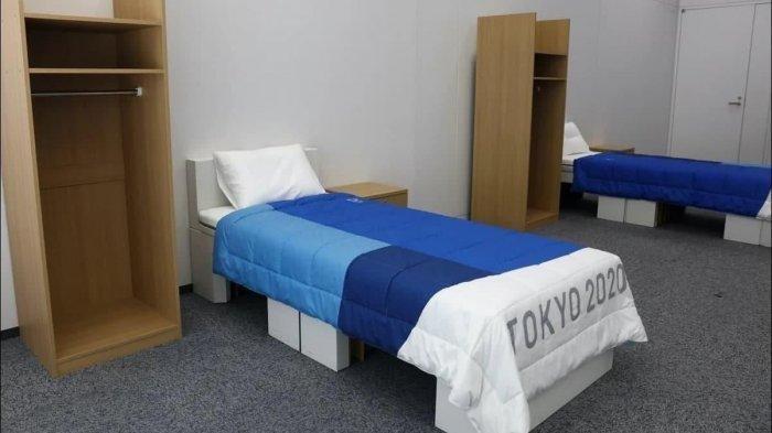 Tempat Tidur Atlet Olimpiade Tokyo Terbuat dari Kardus, Kekurangan Dana? Ternyata Ini Tujuannya