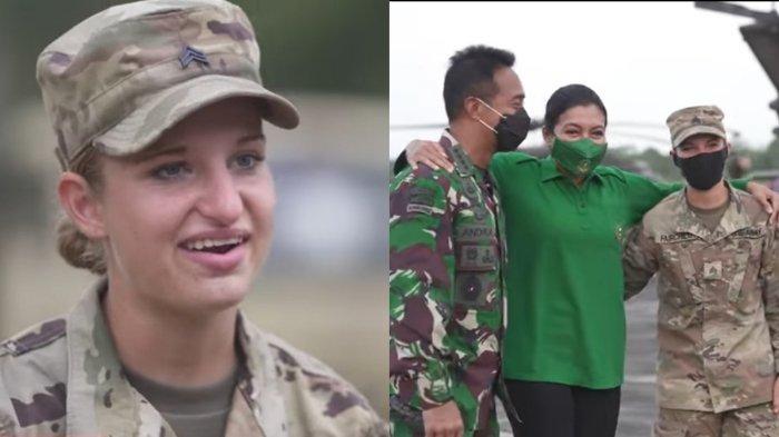 Potret Cantik Tentara Amerika Jago Bahasa Indonesia, Buat KSAD Andika Perkasa dan Istri Terkesan