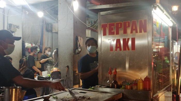Teppan Yaki salah satu pilihan kuliner malam di Cibadak