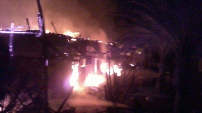 BREAKING NEWS: Hotel Seluas 1 Hektare Terbakar di Jatiluhur