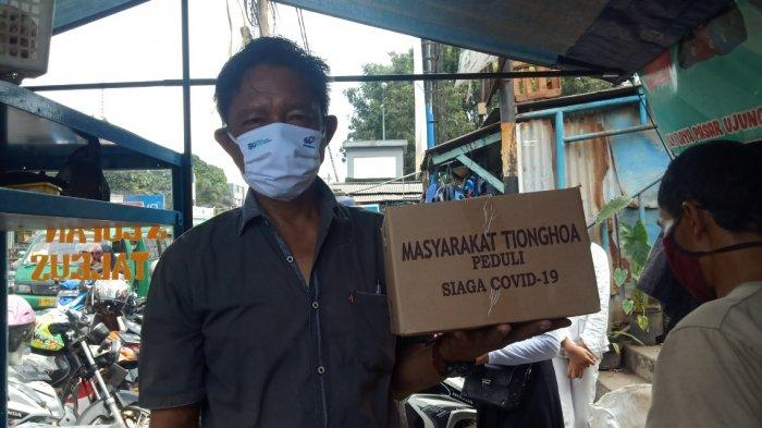Dikira Ada Razia PPKM Darurat,Ternyata Warga di Ujungberung Bandung ini Dapat Sembako